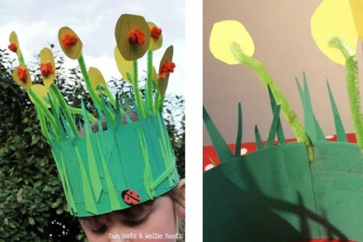 Easter Bonnet Design Template