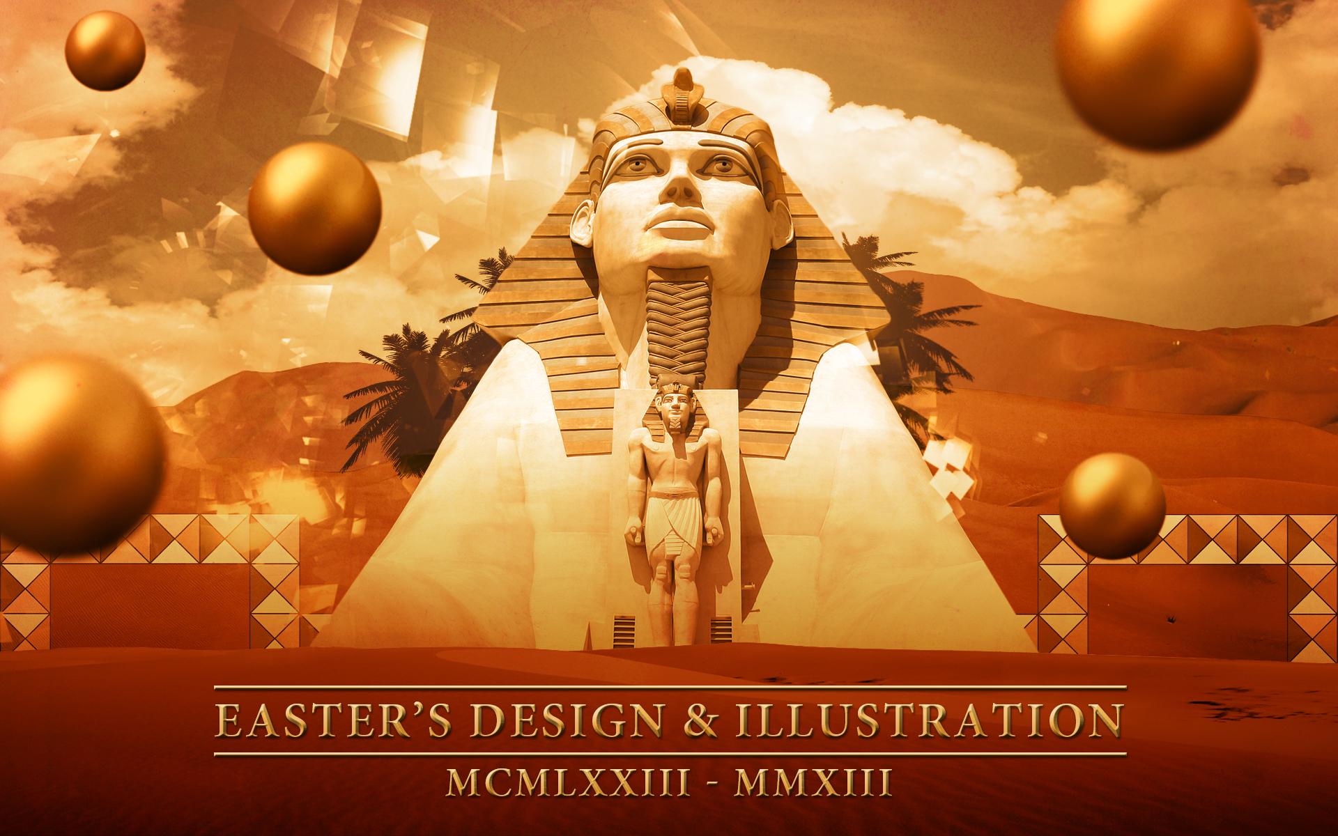 3d Wallpaper For Desktop Icon Space And Fantasy Effect S Easter S Design Amp Illustration