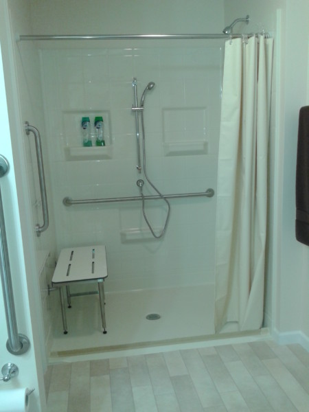 Roll In Shower Home Sweet Accessible Home - Assistive Technology At