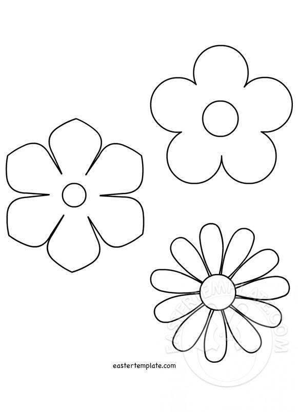 spring flower template - Ozilalmanoof