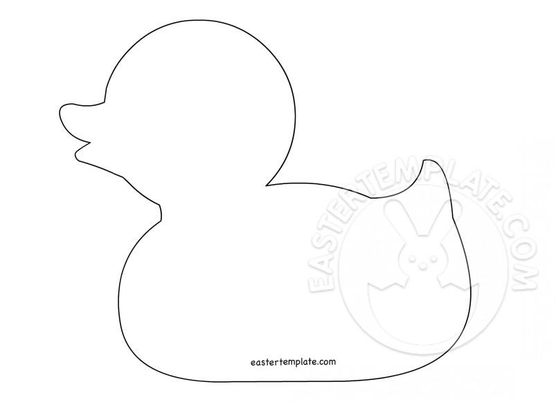 Duck Template \u2013 Animal Templates Easter Template