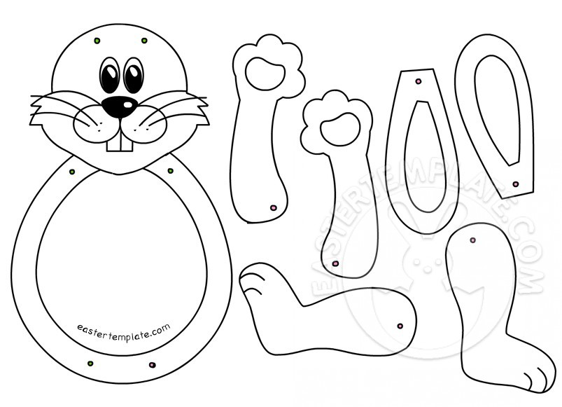 Easter Bunny Templates Printable - Costumepartyrun