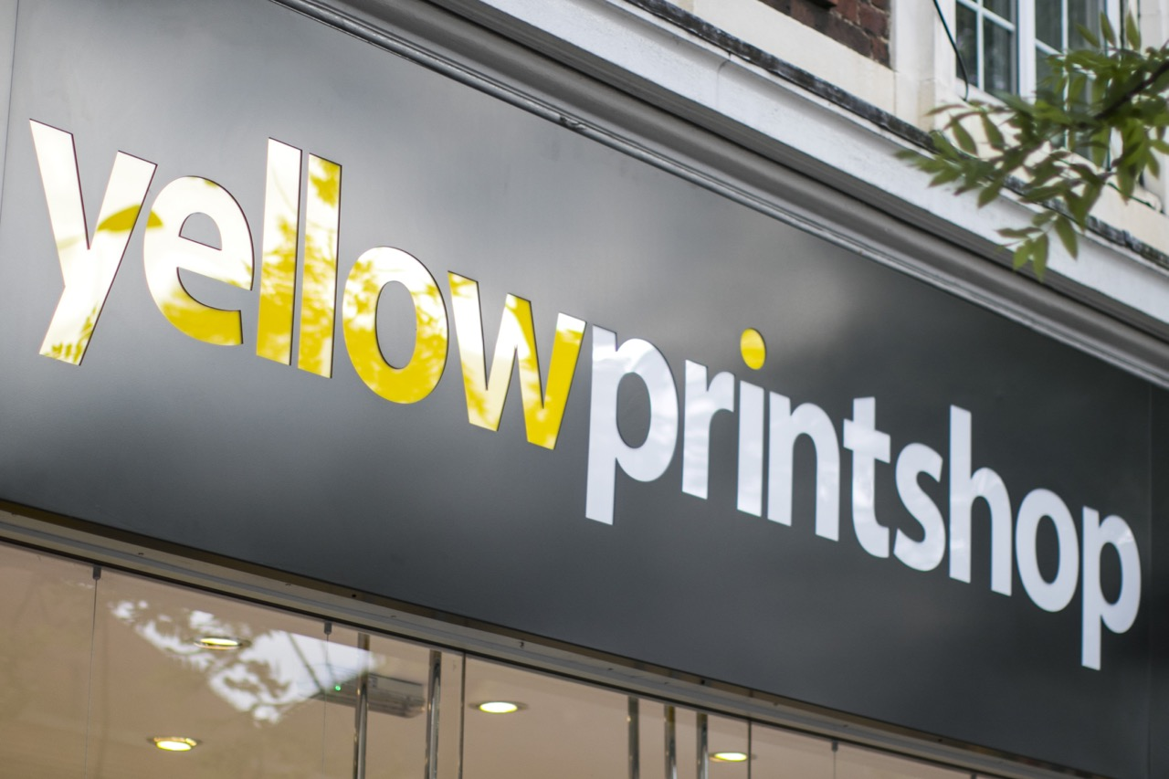 Yellow Shop Yellow Print Shop East Sheen Village