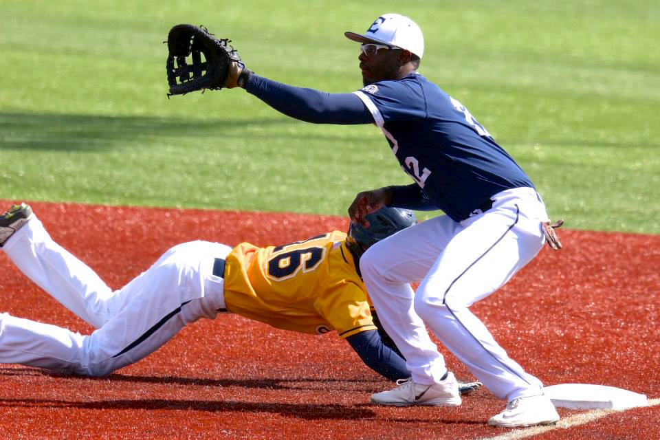 The Bucs recorded a double loss against the Radford Highlanders and Virginia Tech Hokies last week. (Photograph Courtesy of ETSU Athletics)