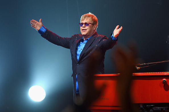 Elton John is scheduled to return to Freedom Hall March 11. The news of the concert has spurred on much excitement in the area.  (Photo by Larry Busacca/Getty Images for Island Records)
