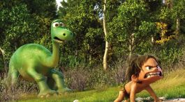 """Pixar's """"The Good Dinosaur"""" was screened in the Culp Center Ballroom on Feb. 19. (Photograph Courtesy of theverge.com)"""