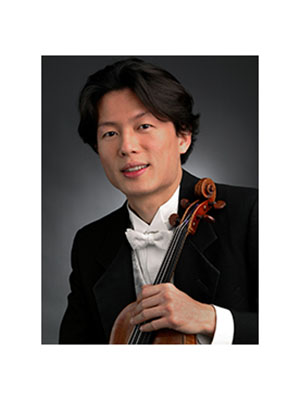 New York Philharmonic violinist, Kuan Cheng-Lu is set to perform a concert at Brown Hall Auditorium on Friday. (Photograph by Chris Lee)