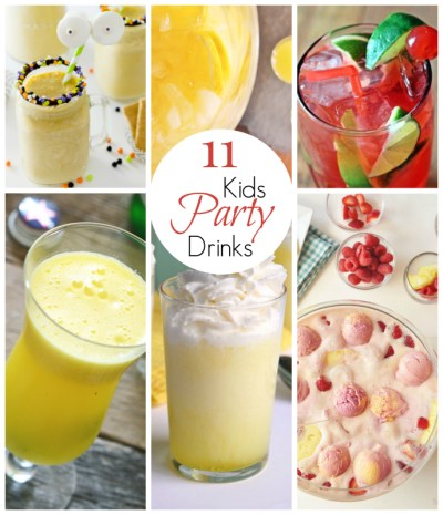 11 Amazing Kid Party Drinks - East Valley Mom Guide