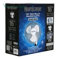 Hurricane - 16 in Wall Mount Oscillating Fan (736503 ...