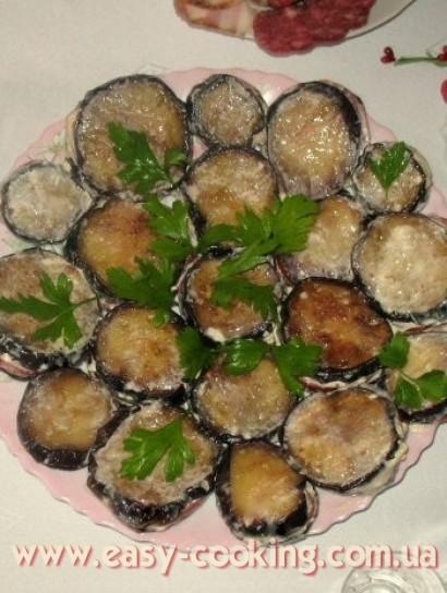 Закуска из баклажан - кулинарный рецепт