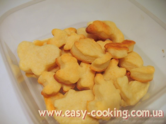 Дитяче печиво із сиром
