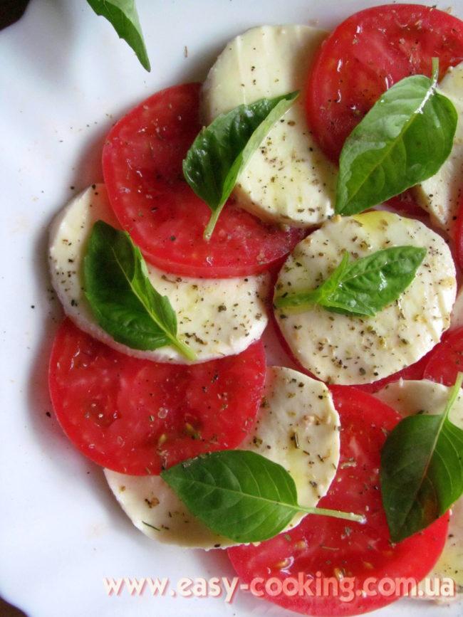 """Італійський салат """"Капрезе"""""""