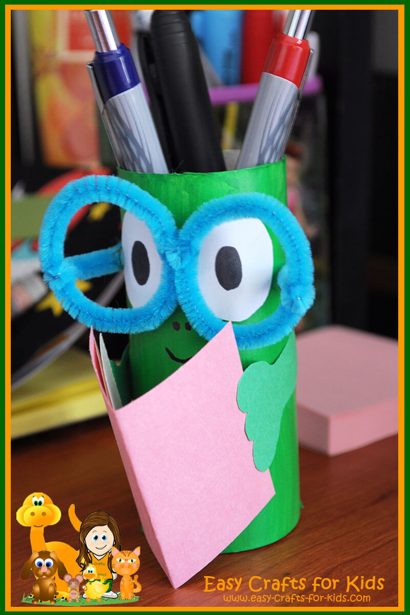 Homemade Pencil Holders Pencil Holder Crafts For Kids Get Ready For Back To School