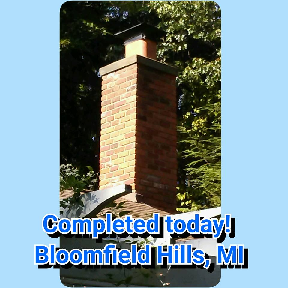 Fireplace Repair Troy Mi Easy Home Improvement Chimney Brick Repair In Royal Oak Troy
