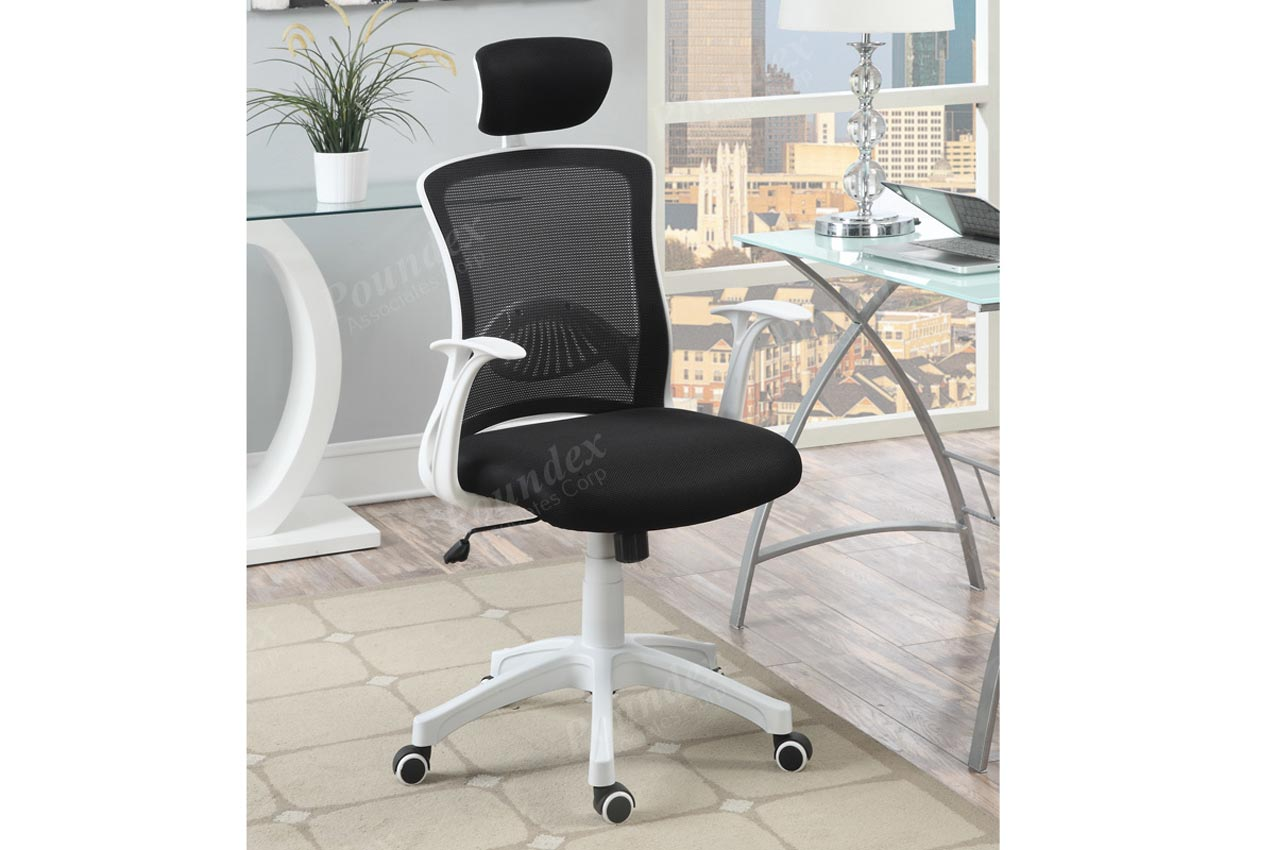 White And Black Office Chair White And Black Office Chair