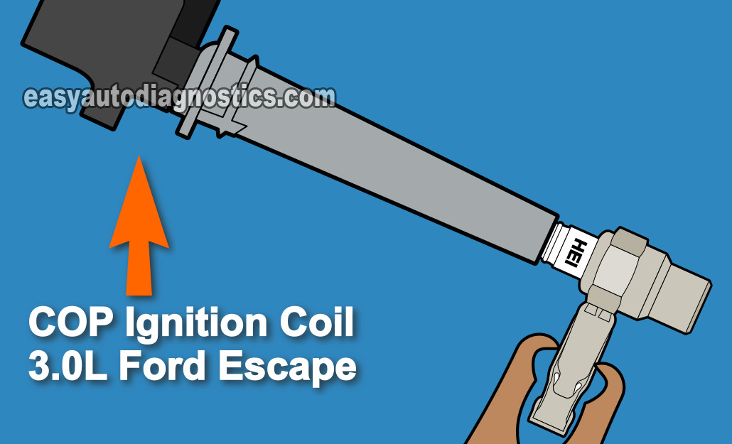 Part 1 -How to Test the Ford Escape COP Coils (Troubleshooting a