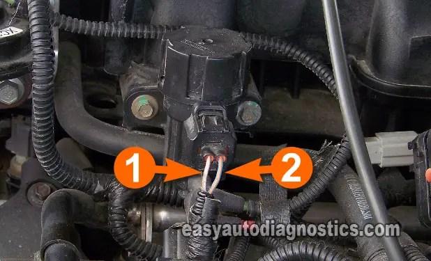 Part 4 -How to Test the Ford EGR Valve EGR Vacuum Solenoid, DPFE Sensor