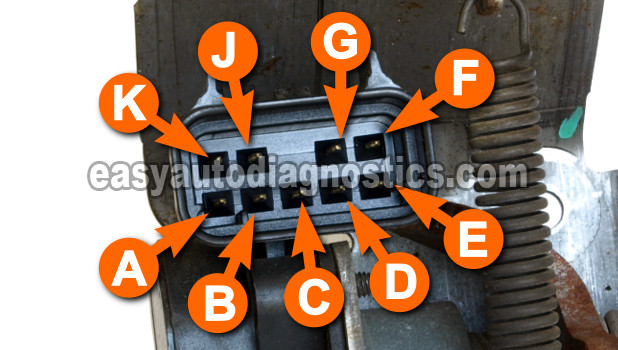 Part 1 -How to Test the GM Accelerator Pedal Position (APP) Sensor 1