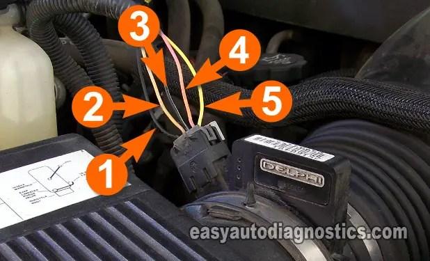 Part 1 -How to Test the GM MAF Sensor 48L, 53L, 60L, 81L