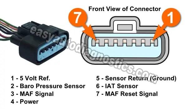 Mitsubishi Mass Air Flow Sensor Wiring Diagram - Somurich