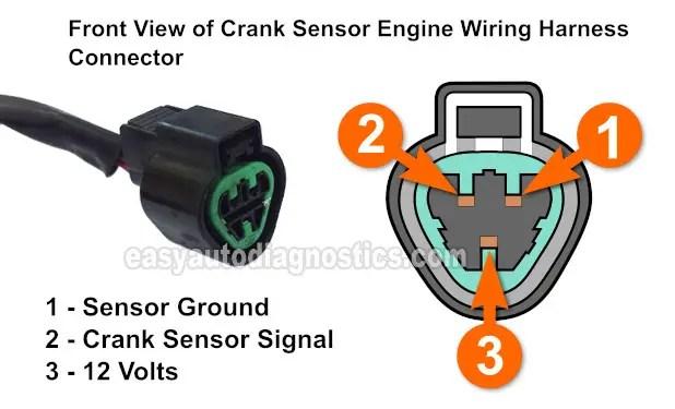 Part 1 -How to Test the Crank Sensor (1995-1998 24L Galant)