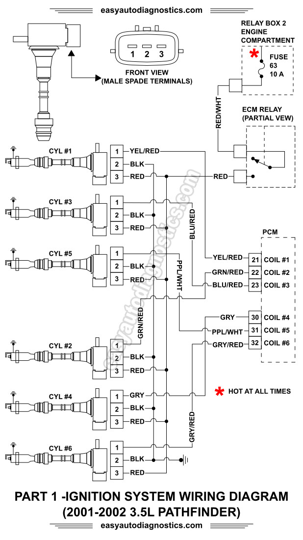 ignition coil resistor wiring diagram