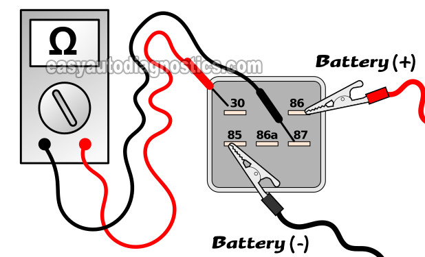 Part 3 -Testing The Fuel Pump Relay (1997-1999 Chevy/GMC Pick Up And