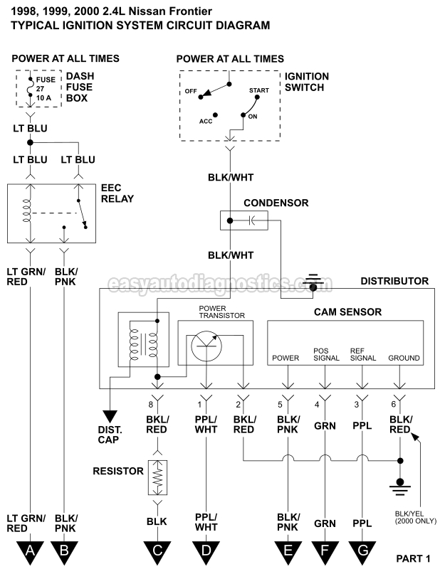 Ignition System Wiring Diagram - Wiring Diagrams