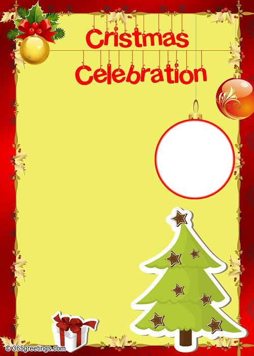 Christmas Party Invitations and Christmas Party Invitation Wording - template for christmas
