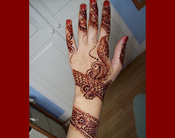 Arabic Mehndi Designs For Hands 3 Easyday