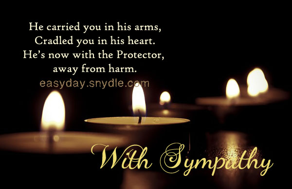 Sympathy Card Messages for Loss of Loved Ones - Easyday