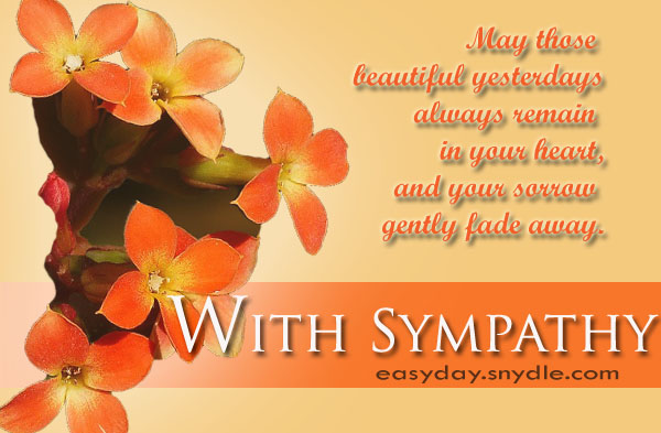 sympathy-messages - Easyday