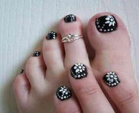 20 Fresh Toe Nail Designs - Easyday