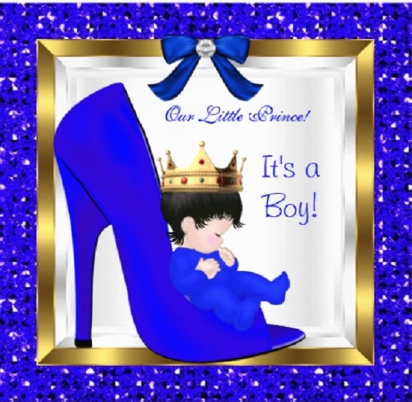 prince themed baby shower invitations easyday