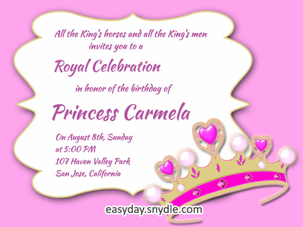 Birthday Invitations Archives - Easyday