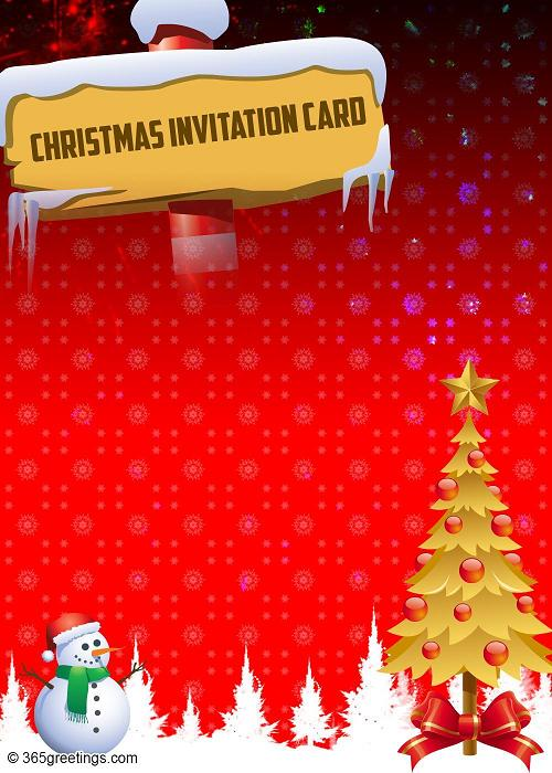 Invitation Template Christmas Party Top Christmas Invitations For This Christmas - Easyday