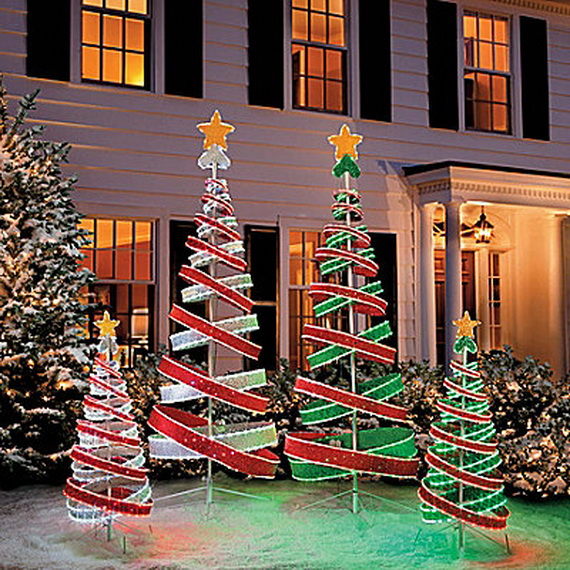 25 Top outdoor Christmas decorations on Pinterest - Easyday - christmas decorations outdoors