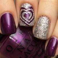 Trendy Purple Nail Art Designs - Easyday