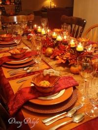 31 Stylish Thanksgiving Table Decor Ideas - Easyday