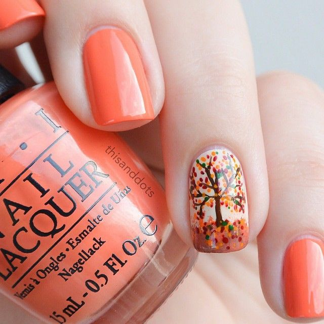 Fall Nail Art Design Ideas