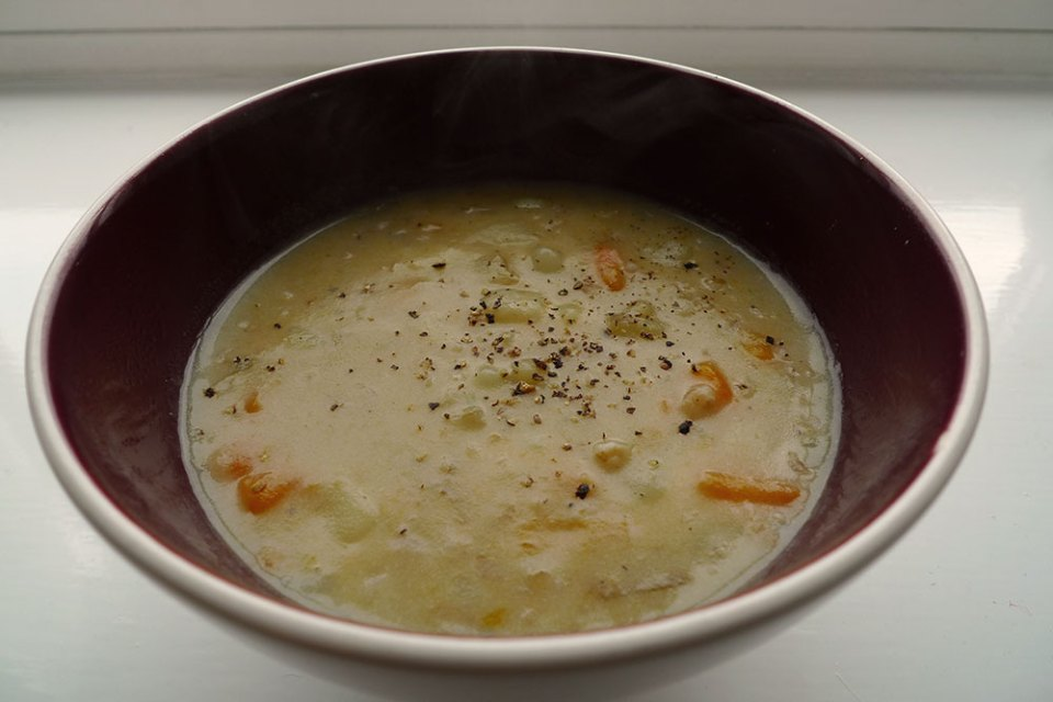 Winter vegetable soups if filling, comforting and not at all difficult.