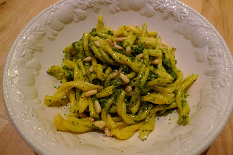 Pesto is fast to make, fresh and really quite luxurious.