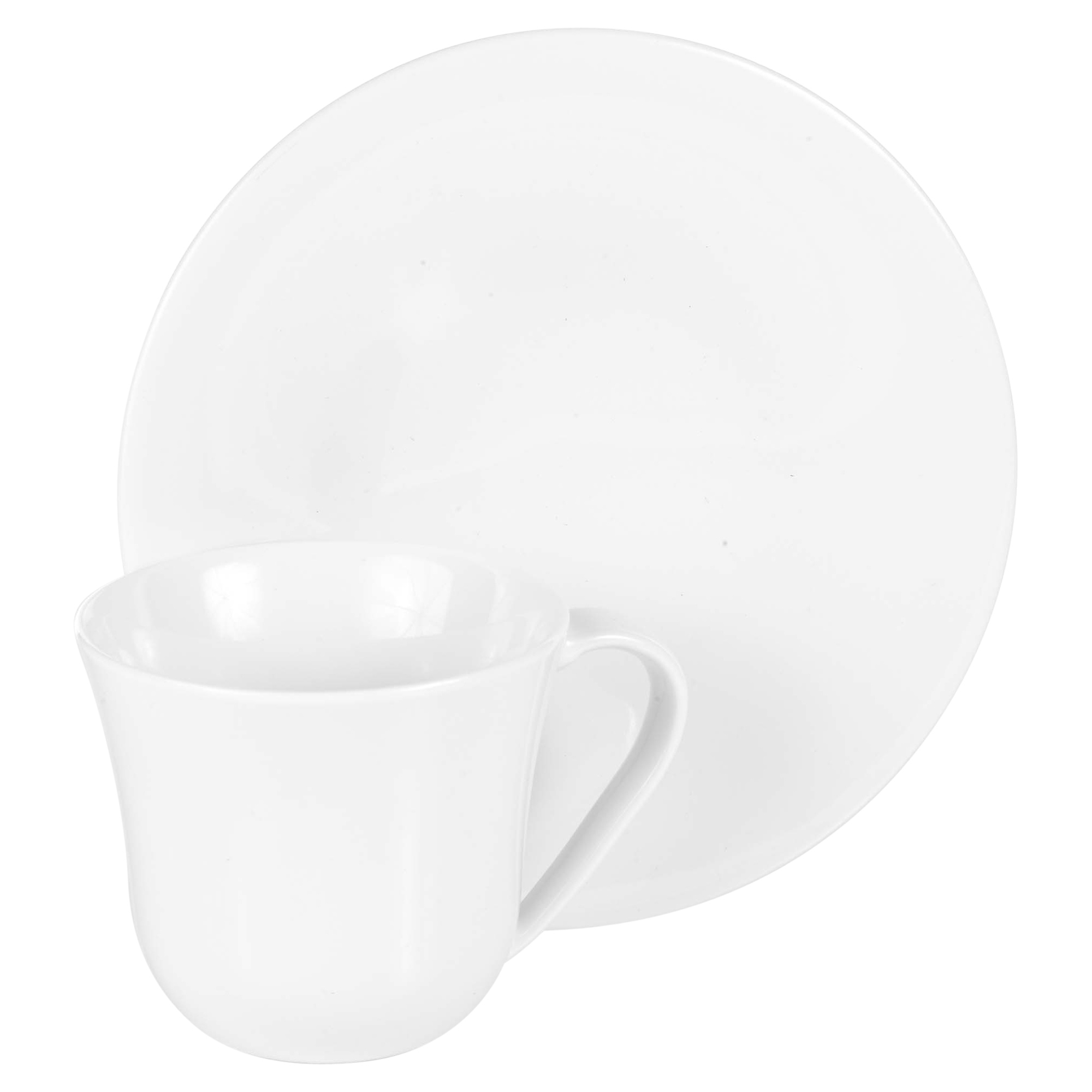 Fancy Cappuccino Cups Alessi Ku Set Of 6 Cups And Saucers Modern Porcelain Coffee