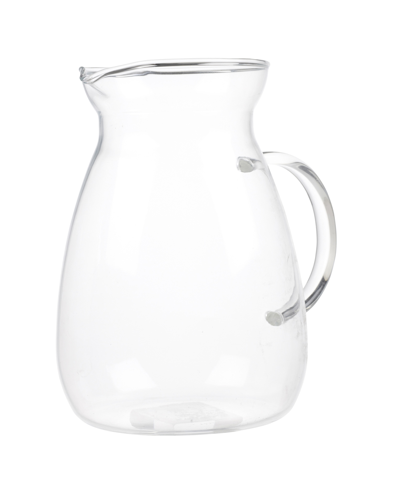 Heat Proof Pitcher Termisil Heat Proof Resistant Jug Borosilicate Clear Glass