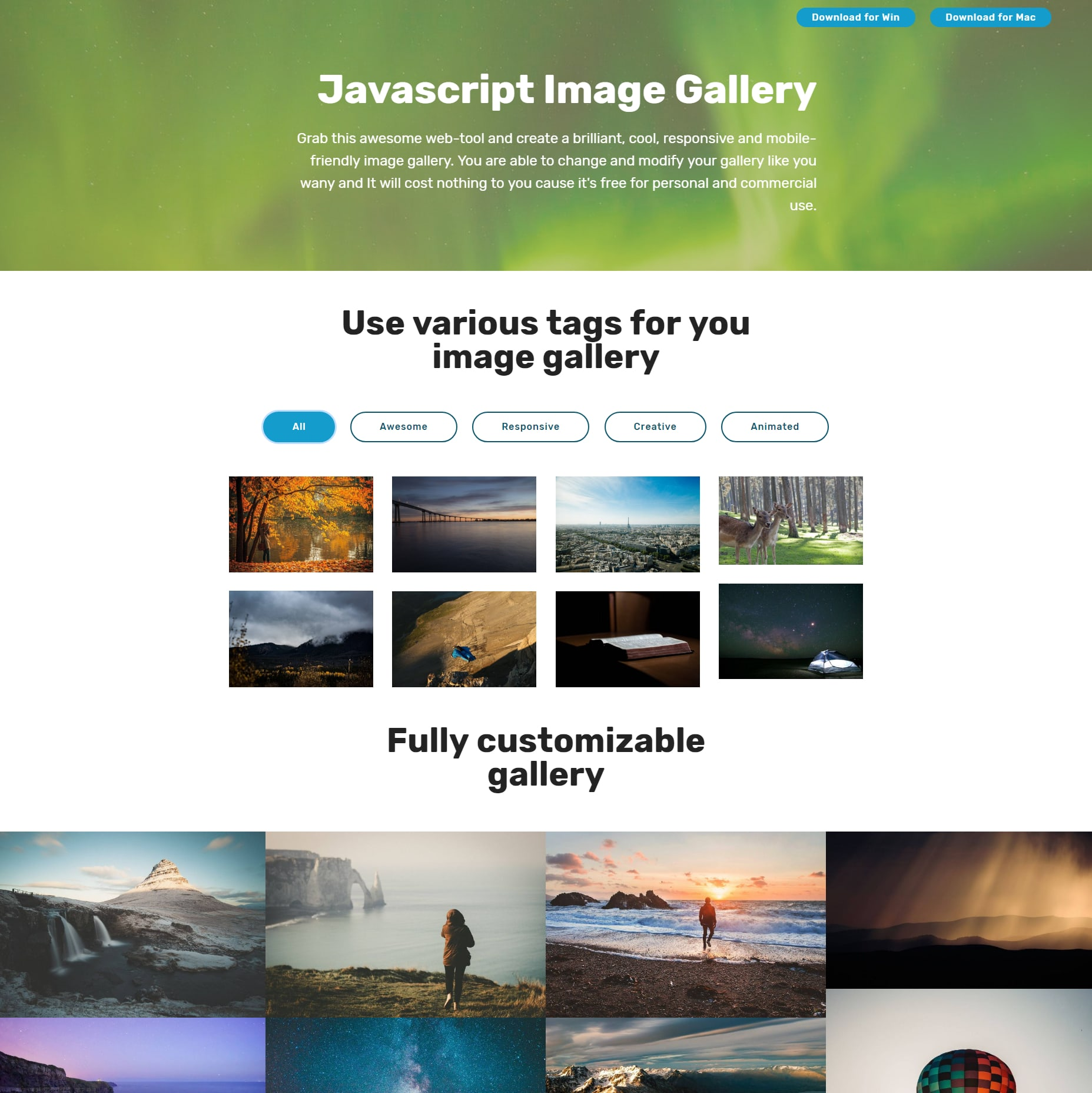 Photo Gallery Of 30 Cool Jquery Bootstrap Image Carousel And Gallery Showcase