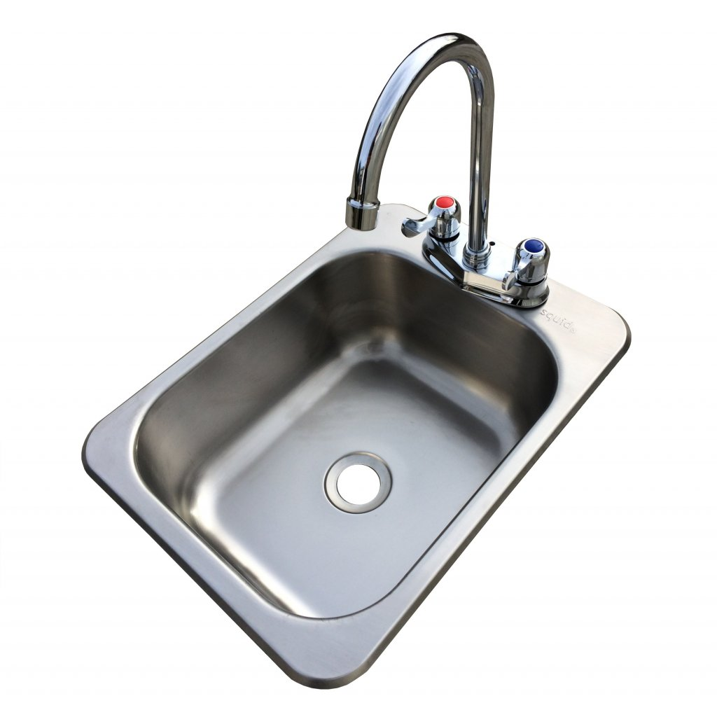 Washbasin Sink Counter Top Sunk Inset S11 Stainless Steel Hand Wash Basin