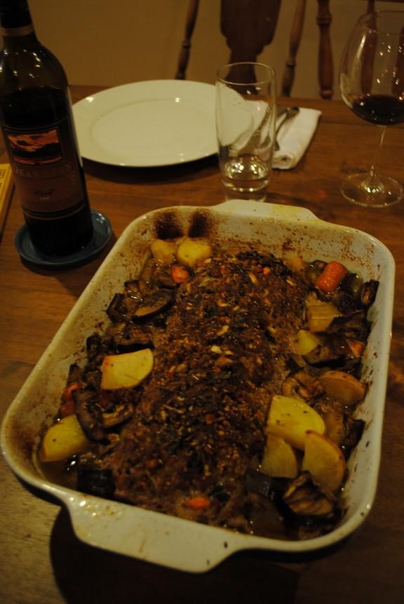 Italian Meatloaf with Spaghetti Squash recipe photo