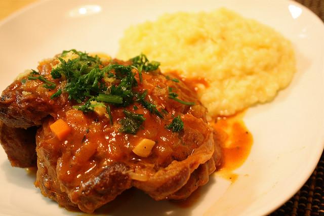 Italian Ossobuco alla Milanese (Italian Veal Shank) Recipe