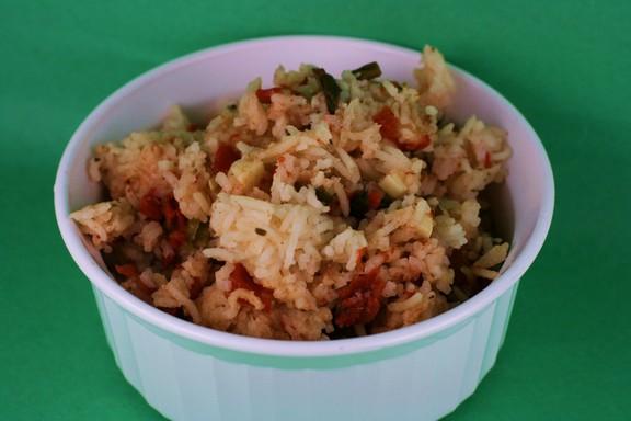 Italian Slow Cooker Rice recipe photo
