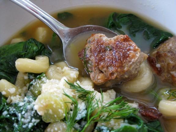 Italian Wedding Soup recipe photo